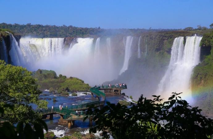 Visitação no Parque Nacional do Iguaçu cresce 105% em julho