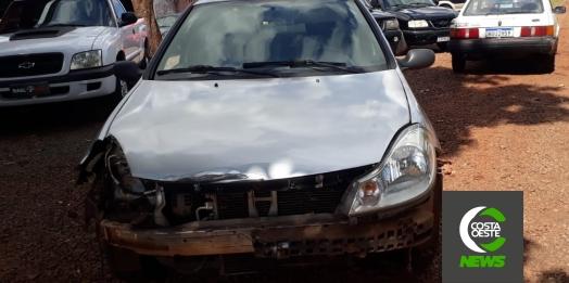Acidente deixa motociclista ferido na PR 317, perímetro urbano de Santa Helena