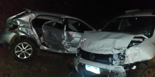 Acidente envolvendo dois veículos é registrado na PR-495, próximo a Dom Armando