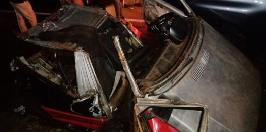Acidente grave na BR 277 em São Miguel do Iguaçu deixa dois feridos