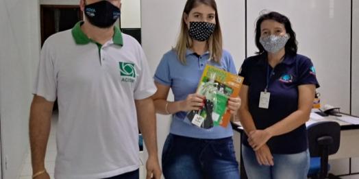 ACISMI e Vigilância Sanitária visitam supermercados, mercados e bancos para orientar sobre as medidas de prevenção à covid-19