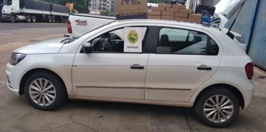 BPFRON apreende veículos com contrabando durante Operação Hórus em STI e São Miguel do Iguaçu