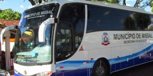Cadastro para o transporte universitário está disponível em Missal para 1º semestre de 2021