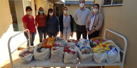 Campanha arrecada 170 kg de alimentos ao Hospital Nossa Senhora de Fátima em Missal