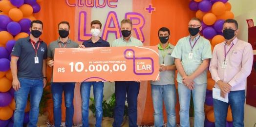 Clube Lar Mais em sua 4º etapa: Poupança de R$10 mil reais destinada a Itaipulândia