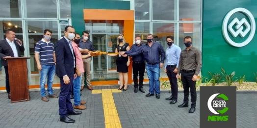 Completando 11 anos, Cresol Costa Oeste inaugura nova agência de atendimento em São Miguel
