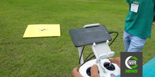 Curso de manuseio de drones para uso na agricultura