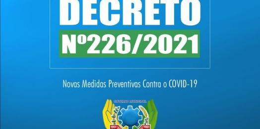 Decreto detalha medidas preventivas adotas em São Miguel do Iguaçu