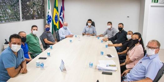 Deputado Federal Vermelho visita Medianeira