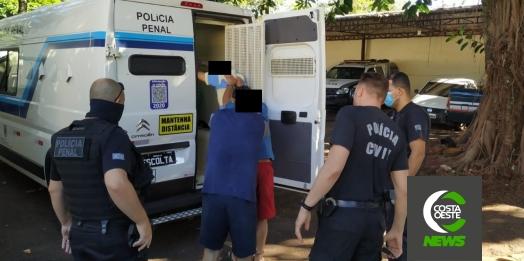 Detentos são definitivamente transferidos de Santa Helena para Foz do Iguaçu