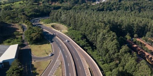 Ecocataratas realiza manutenção do pavimento, em Matelândia
