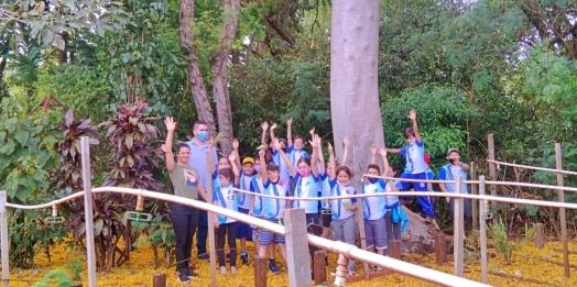 Escola Carlos Gomes e Secretaria de Meio Ambiente desenvolvem ação do Dia da Árvore em Itaipulândia