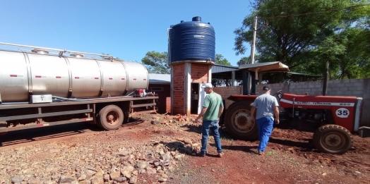Falta de energia ainda afeta abastecimento de água em Missal
