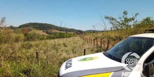 Família se ausenta de propriedade rural e ladrões