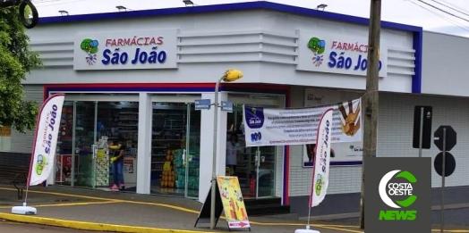 Farmácias São João realiza sorteio de prêmios; conheça os ganhadores