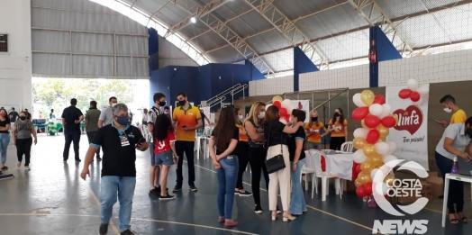 Feirão Emprega Mais reúne empresar e poder público para dar oportunidade de trabalho e capacitação.