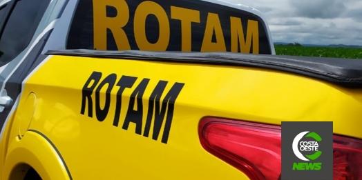 Foragido da justiça é preso pela ROTAM em Medianeira