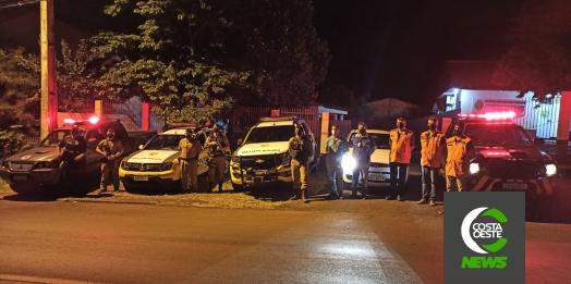 Forças de segurança e fiscalização realizam a Operação AIFU em São Miguel do Iguaçu