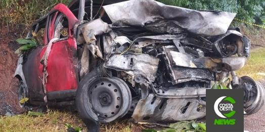 Grave acidente deixa dois mortos na BR-277 em São Miguel do Iguaçu