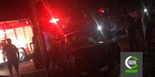 Grave acidente deixa duas vítimas em estado grave em São Miguel