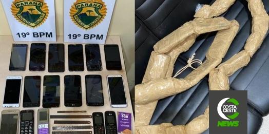 Homem é preso com objetos que seriam jogados dentro da Cadeia Pública de Guaíra