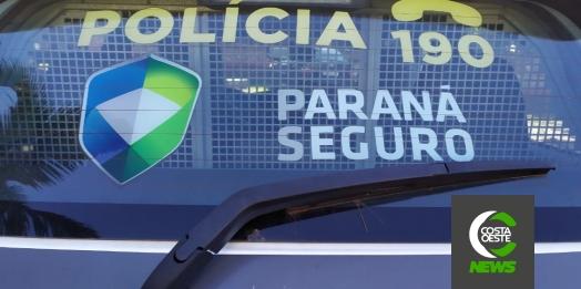 Homem é preso por violência doméstica pela PM de Medianeira