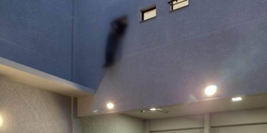 Homem tenta furtar casa de carnes em Cascavel e na fuga morre enforcado na janela do banheiro