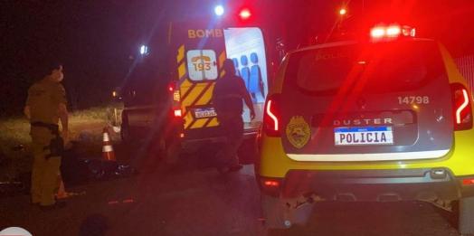 Identificado ciclista que morreu em acidente em São Miguel do Iguaçu