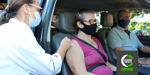 Idosos com 75 anos poderão receber a segunda dose da Coronavac nesta quinta em Santa Helena