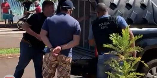 Itaipulândia: Homem é preso em flagrante após ameaçar esposa em frente à Delegacia