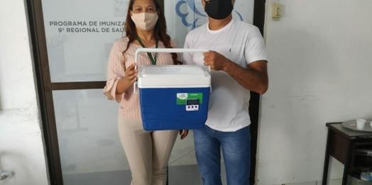 Itaipulândia recebe mais 70 doses de vacina contra a Covid-19