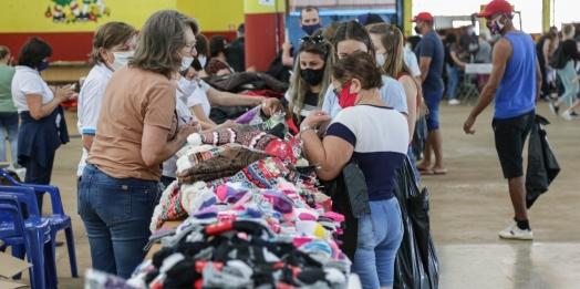 Itens remanescentes do Bazar beneficente do Provopar estarão à disposição nesta terça-feira