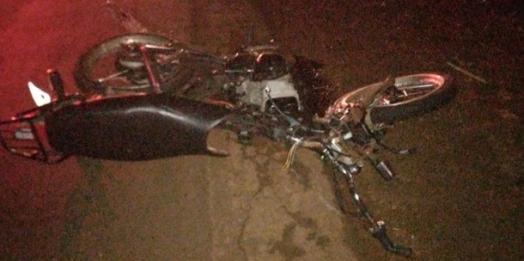 Jovem perde a vida em acidente de moto na PR 317 em Santa Helena