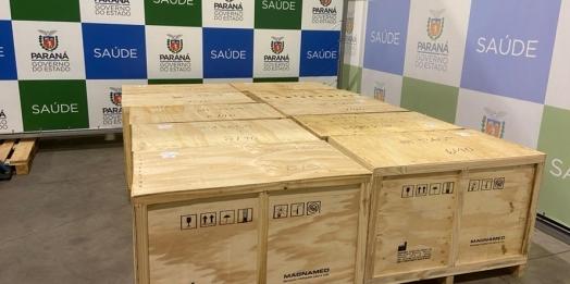 Klabin doa mais 15 respiradores com monitores ao Paraná