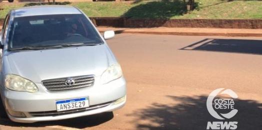 Ladrões levam veículo após assalto em Vera Cruz do Oeste