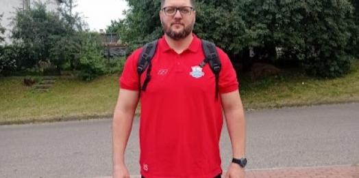 Santa-helenense Marlus Sokolowski é o novo preparador físico do Lubawa Futsal, da Polônia