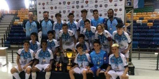 Medianeira é  Campeão da Taça Brasil Sub 15 de Futsal