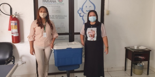 Medianeira recebe mais 380 doses da vacina contra a Covid-19