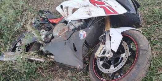 Morador de Itaipulândia morre em grave acidente com moto na BR-277