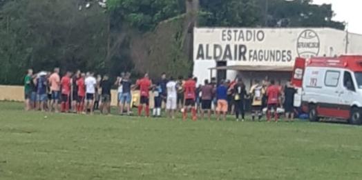 Morador de Medianeira falece jogando futebol em Foz do Iguaçu