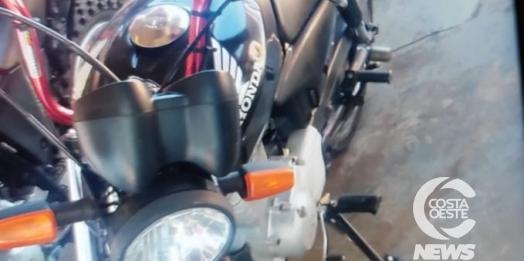 Motocicleta é furtada durante a madrugada em Santa Helena