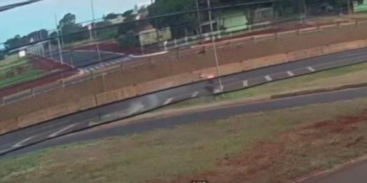 Motociclista sofre acidente em Medianeira