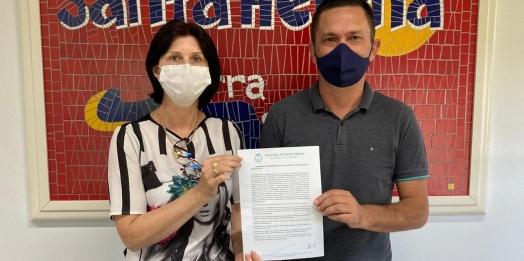 Santa Helena envia Protocolo de Intenção para compra da vacina contra o Coronavírus