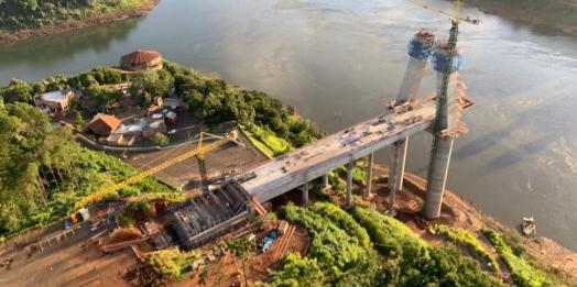 Negócio em alta: obras da usina de Itaipu atraem empresas de concreto para Foz do Iguaçu
