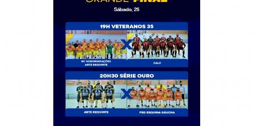 Neste sábado tem finais do Futsal itaipulandiense