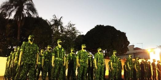 Tiro de Guerra de Medianeira realiza solenidade especial ao Dia do Exército