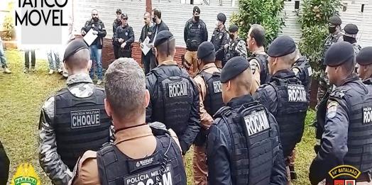 Operação contra o tráfico de drogas é realizada em São Miguel do Iguaçu