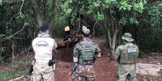 Operação Importunus destrói 41 portos clandestinos entre Guaíra e Santa Helena