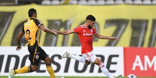 Ouça os gols: Inter sofre virada no fim e perde para o Deportivo Táchira pela Libertadores