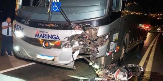 Padrasto suspeito de matar a enteada a facadas morre após acidente de trânsito em Cascavel